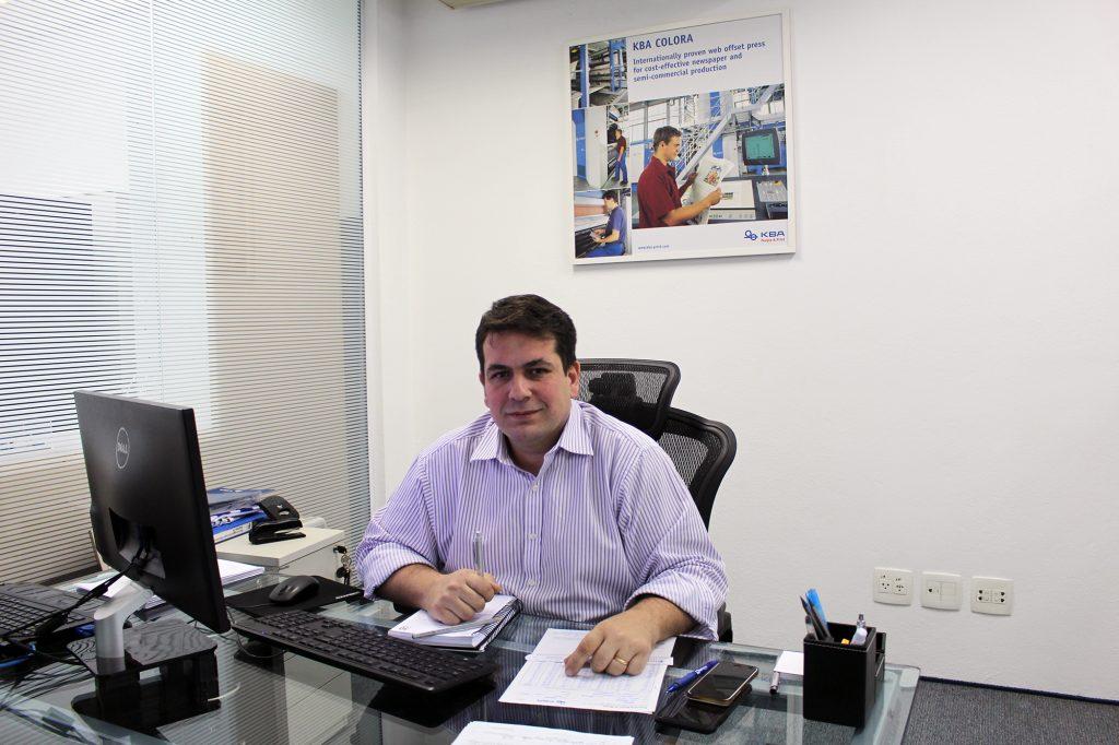 Fábio Vido, responsável pela área de Serviços na KBA Brasil
