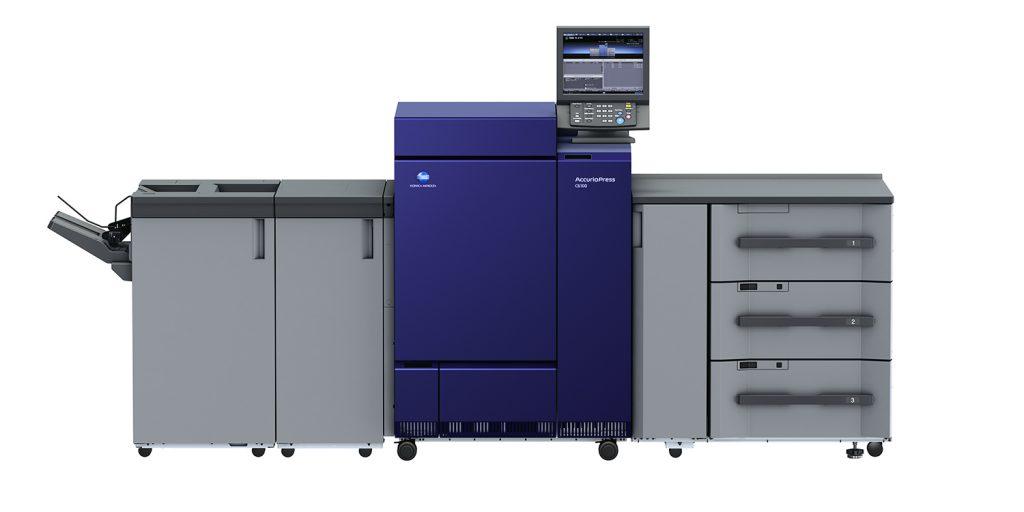 A AccurioPRESS C6100 estará entre os destaques da Konica Minolta na ExpoPrint 2018